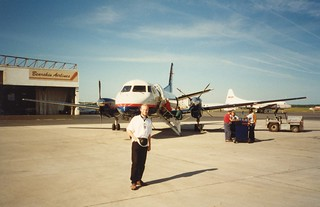 Nick On The Tarmac In Thunder Bay