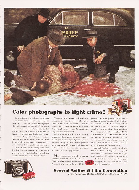 Color photographs to fight crime