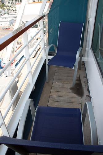 Carnival Elation - Verandah Demi-suite Balcony | by Miss Shari