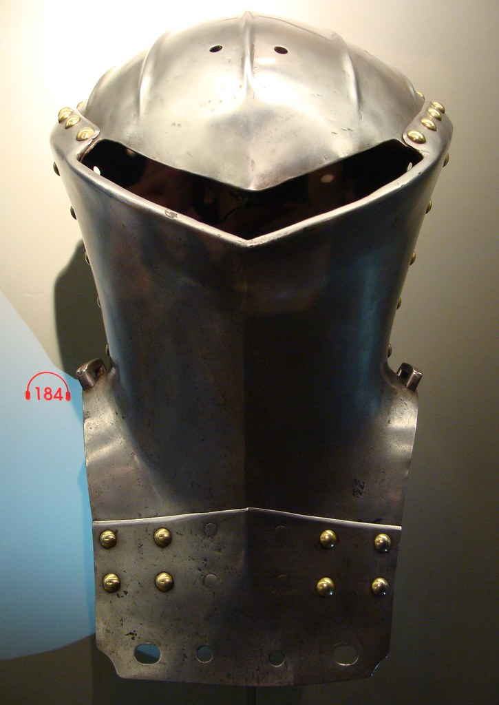 ca  1500 - 'frog-mouth helmet for the 'Gestech' (Stechhelm