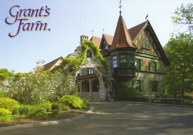 Grant's Farm Postcard