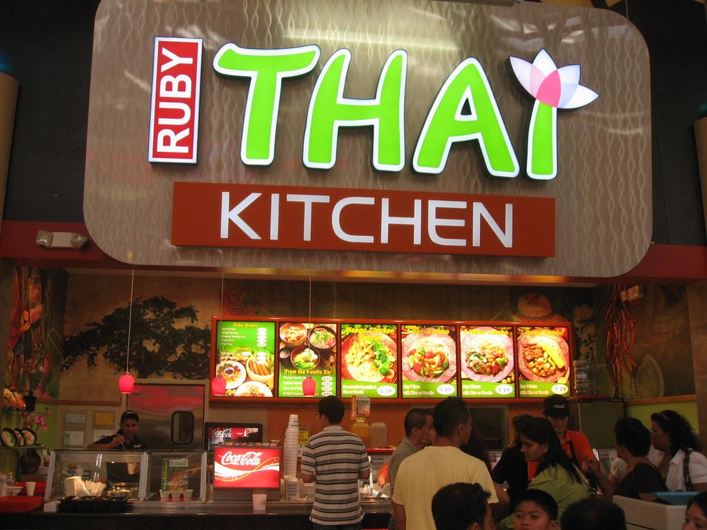 Ruby Thai Kitchen Milpitas Great Mall Just Ok