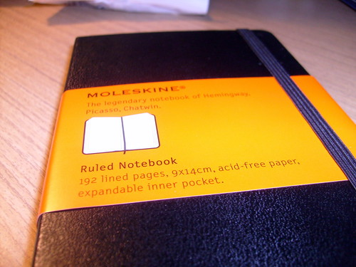 My first moleskine | by crashover_ru