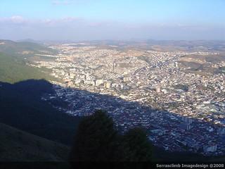 Poços vista da serra de São Domingos