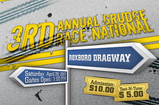 3rd Annual Grudge Race National Developed for: PGAdvertising US