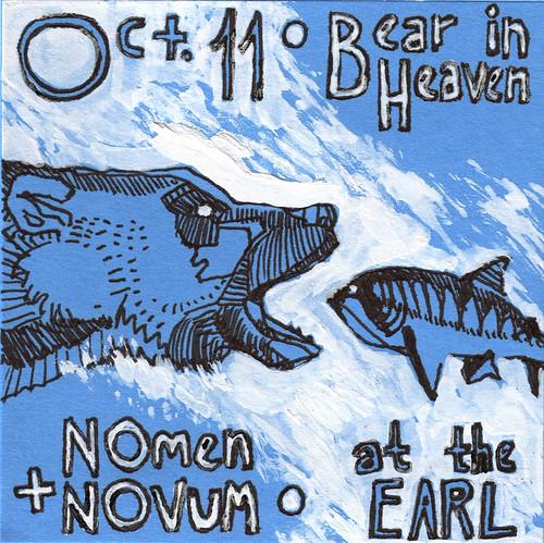 Oct 11 • Bear in Heaven + Nomen Novum • at the EARL | by ceeb