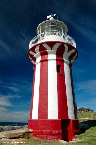 The Hornby Lighthouse at South Head, Sydney
