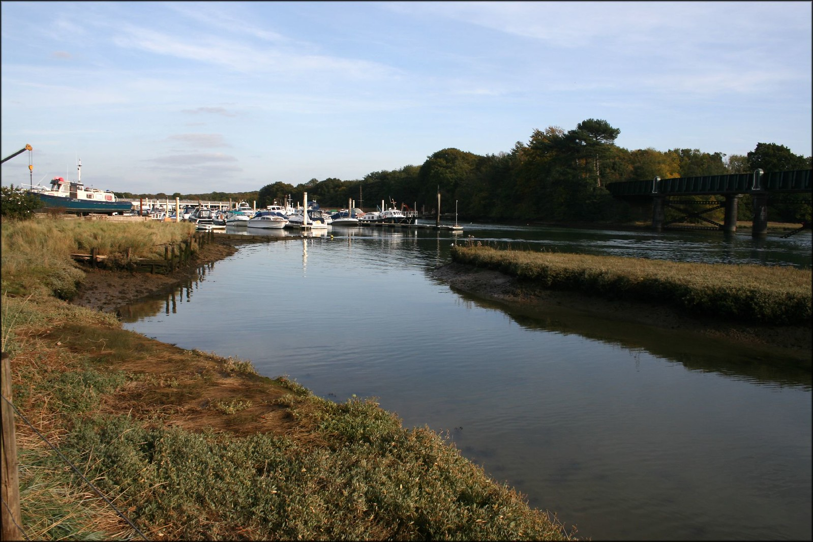 The River Hamble near Bursledon