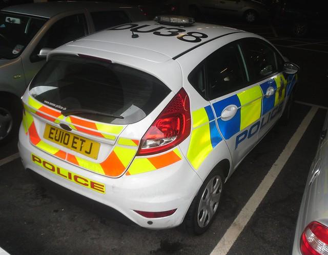 Essex Police / Ford Fiesta / Patrol Car / DU38 / EU10 ETJ