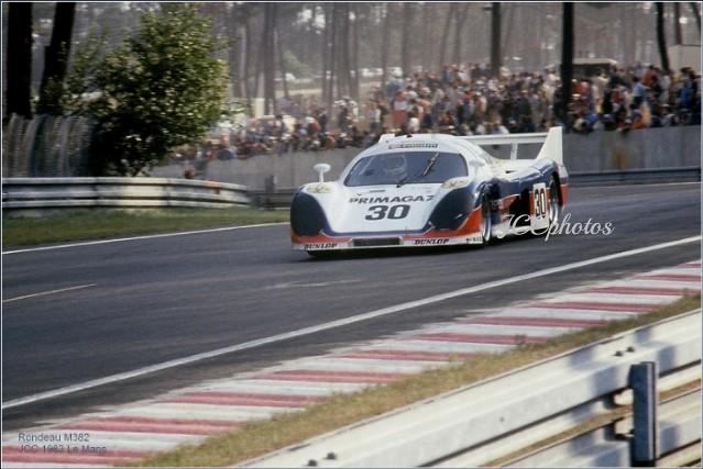 24 Heures du Mans 1983 Rondeau M382