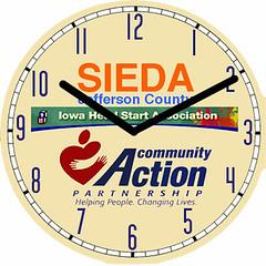 Sieda Business Clock   by customclockface