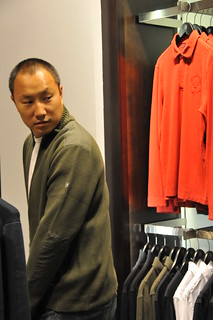 Dinh at the victorinox store | by lysinewf