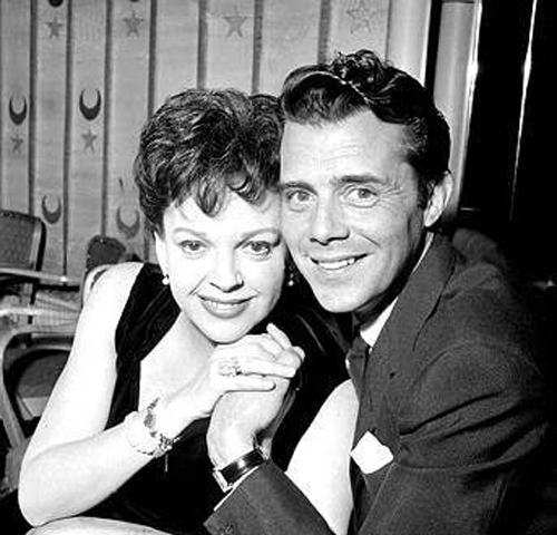 Image result for judy garland and dirk bogarde
