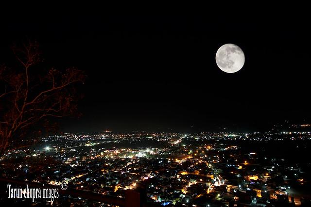 Chittorgarh  City Night Shot