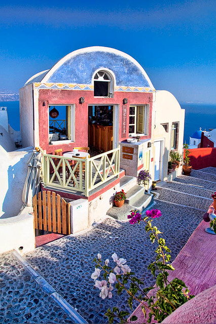 Santorini Cafe | Darko Sikman | Flickr