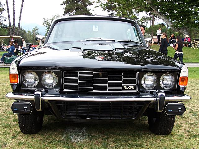 1969 Rover P6-B 2