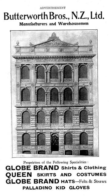 Old Butterworth Building, High Street, Dunedin (1)
