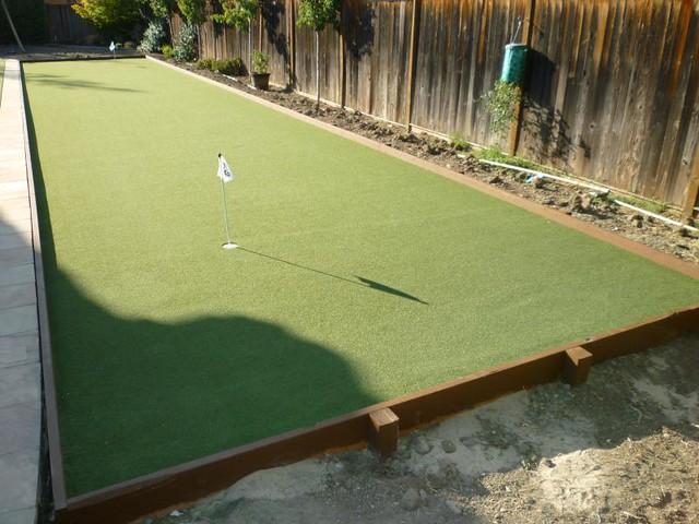 Backyard Bocce Ball Court In Walnut Creek   Backyard Bocce ...