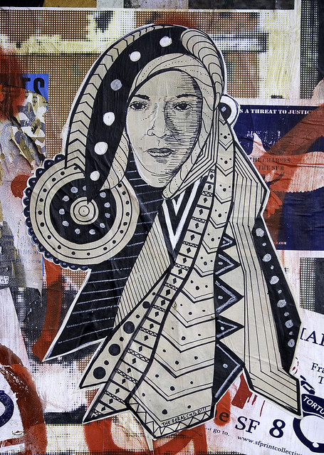 Woman in Native Dress
