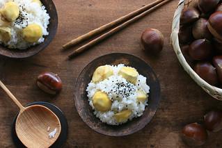 Kuri Gohan (Chestnut Rice) | by Miki Nagata (bananagranola)