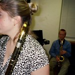Duke University Jazz Students - Jillian Smith, Simon Blank