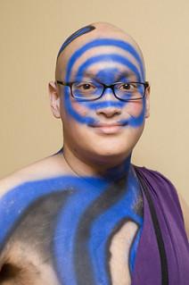 Bob w blue swirl