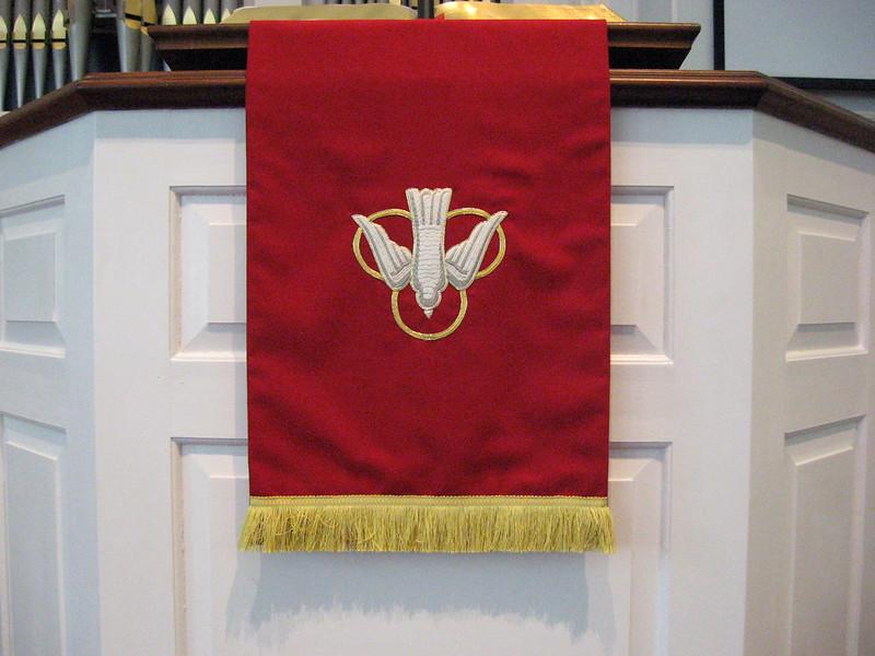 0221 Pentecost Parament