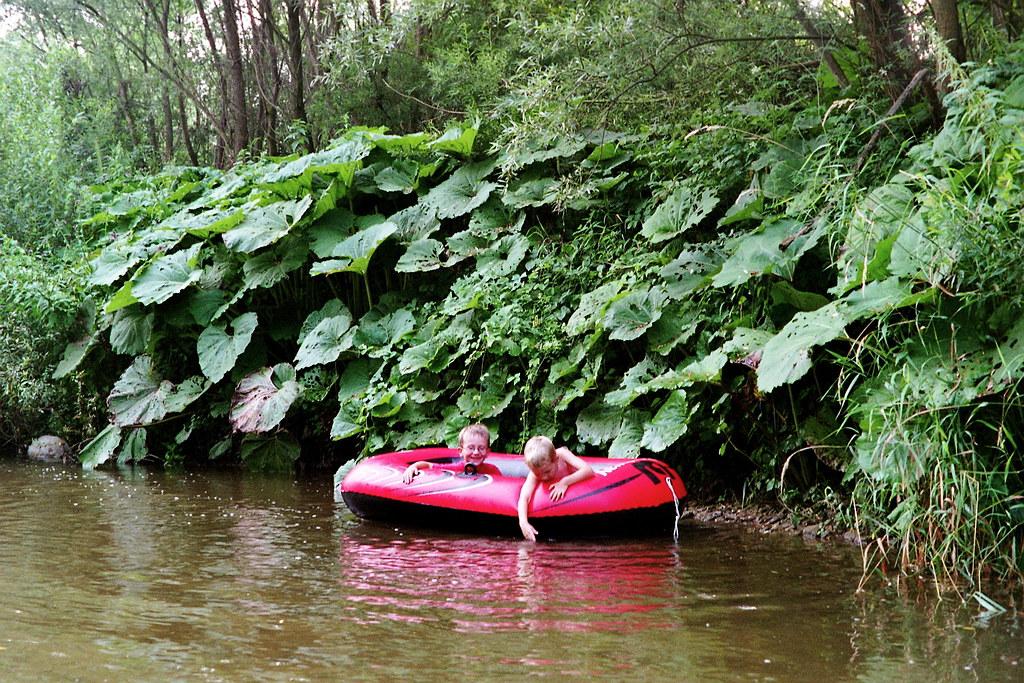Żegluga śródlądowa w dorzeczu Raby - Stradomka / Inland navigation in Raba river basin - Stradomka