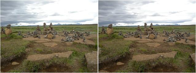 3-D Cairn at Gullfoss