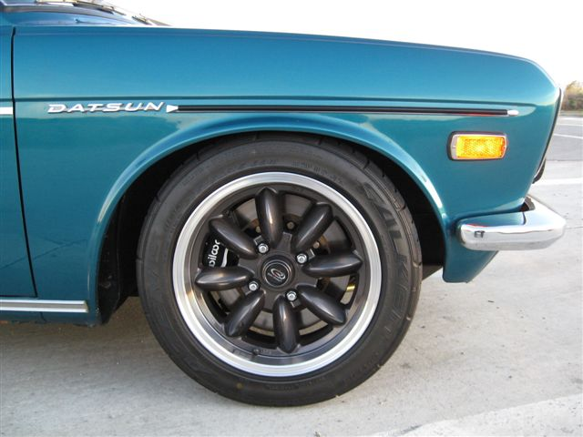 1972 Datsun 510 For Sale Front Wheel | Bring A Trailer | Flickr