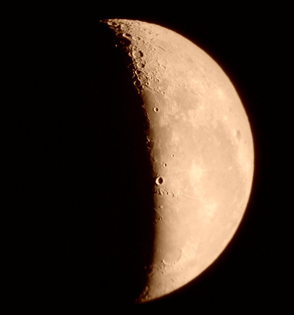CUARTO MENGUANTE ( 13-09-2009) | Cuarto menguante Esta fase … | Flickr