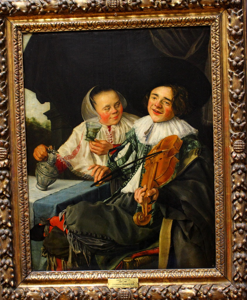 Judith LEYSTER, La joyeuse Compagnie, 1630   Official site