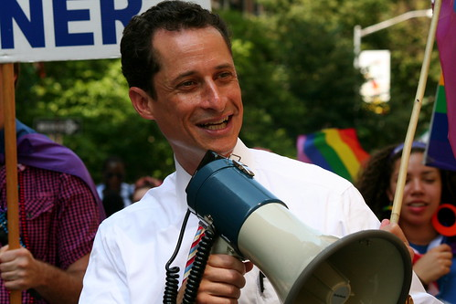NYC Gay Pride 2009 - Congressman Anthony Weiner | by Boss Tweed