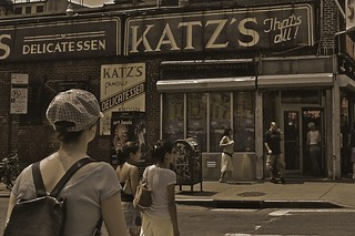 Katz's Deli in NYC