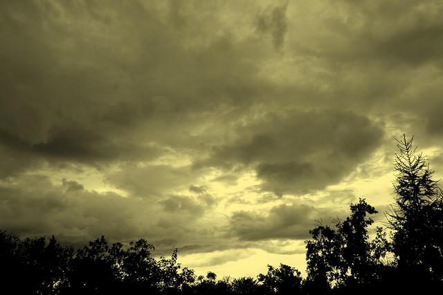 Ciel d'orage...