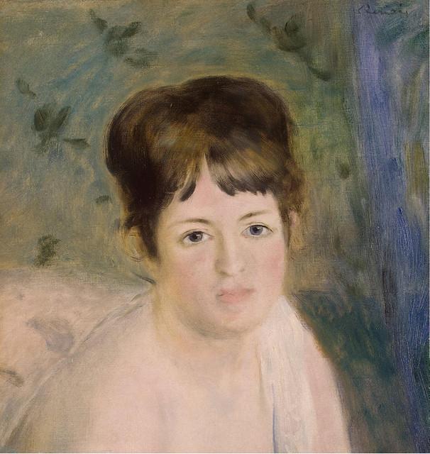 Renoir - head of a woman 1876