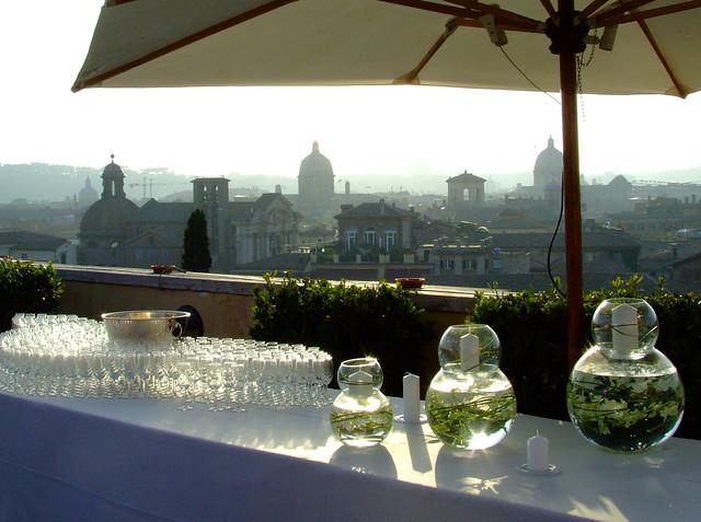 A Piece Of Rome From Terrazza Caffarelli Un Pezzo Di Roma