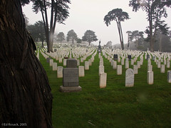 San Francisco National Cemetary   by Ed Rosack