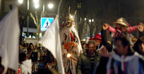Trapujaleren desfilea