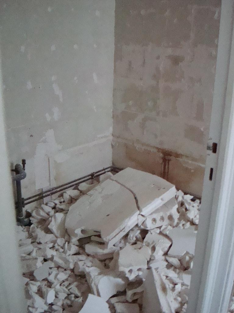 Bathroom Salle De Bain salle de bain / bathroom demolition | bridget_paris | flickr