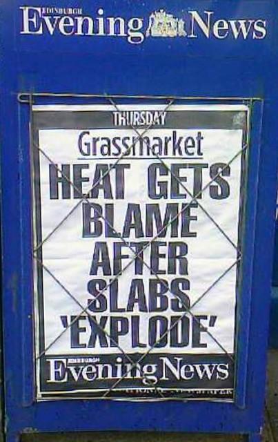 Warning: Exploding Slabs
