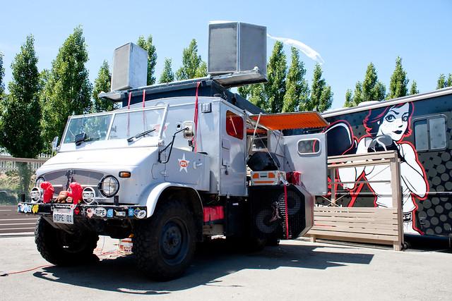 Truck Sound System >> Awesome Sound System Truck At Roshambo Winery Roshambo Win Flickr