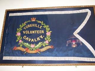 Yorkville Volunteer Cavalry flag   by cetaylor