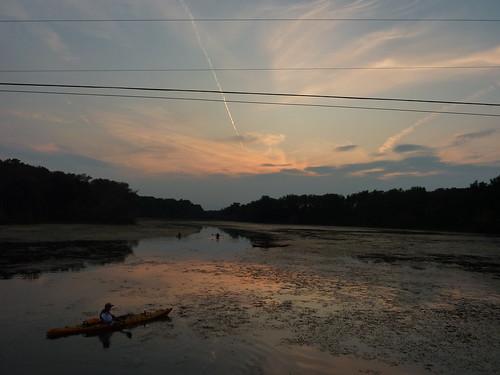 sunset lake kayak resovoir ladue