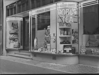 Shop in Maroubra Junction, 28 March 1939, by Sam Hood
