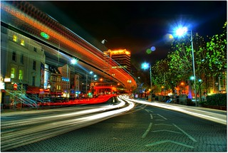 Bristol City Centre at Night (HDR) | by LukeAndrew94