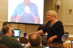 Aileen Bennett at Niche Affiliate Marketing System (NAMS) Workshop 3 | by rogercarr