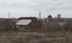 Abandoned building of the blast furnace of SMTR, 01.03.2015.