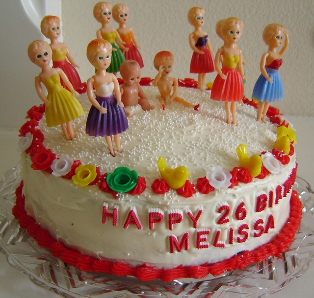 Wondrous Melissas 26Th Birthday Cake We Got These Ladies At The Sw Flickr Personalised Birthday Cards Beptaeletsinfo