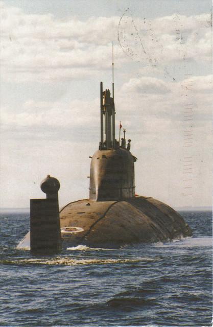 Submarine Cheetah, Russia Postcard